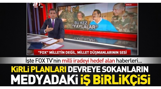 FOX TV'NİN KİRLİ OPERASYONLARI