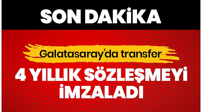 GALATASARAY'DA BOMBA TRANSFER